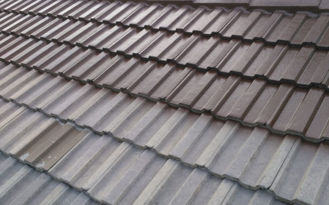 Professional Tile Roof Restoration and Quality Paint Finish