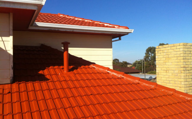 Complete Roof Care | Roof Restoration including mortar replacement, professional clean and painting