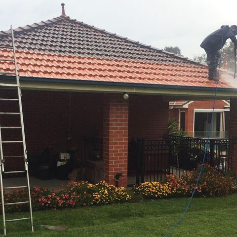 Frankston Roof Contractor Partially Completed Roof Restoration